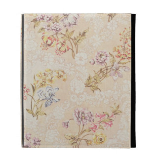 Floral design with peonies, lilies and roses for S iPad Folio Cases