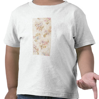 Floral design with peonies, lilies and roses for S T Shirt