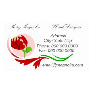 Floral Designer Business Card