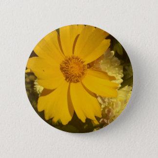 Floral designs 002 6 cm round badge