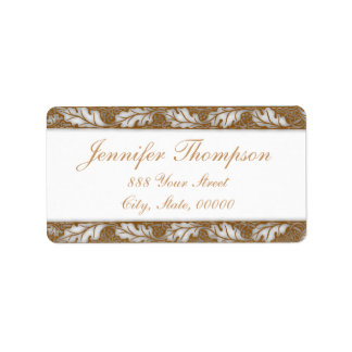 Floral Designs by William Morris - Address Labels