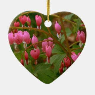Floral Display Ceramic Heart Decoration