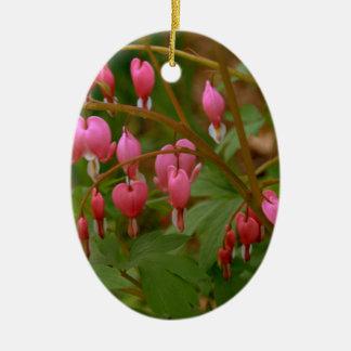 Floral Display Ceramic Oval Decoration