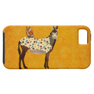 Floral Donkey & Owl  Case iPhone 5 Cover