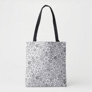 Floral Doodle 2 Tote Bag
