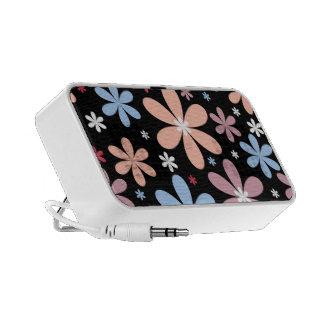 Floral Doodle Custom Speaker