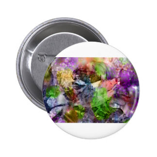 Floral Dream OF Beauty 6 Cm Round Badge