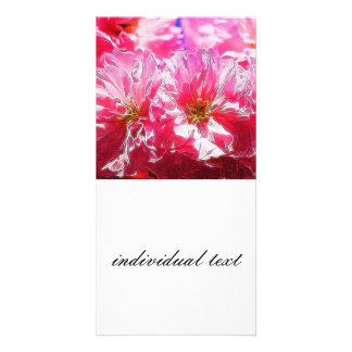 Floral Dreams 03 hot pink Photo Cards