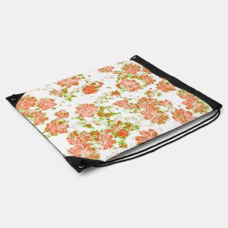 floral dreams 12 D Drawstring Bag