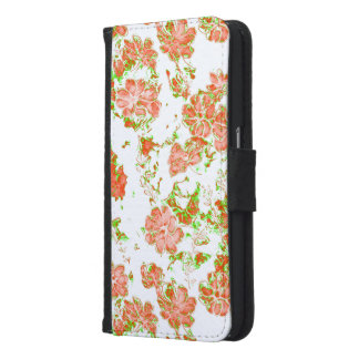 floral dreams 12 D Samsung Galaxy S6 Wallet Case