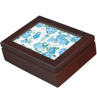 floral dreams 12 E Keepsake Box