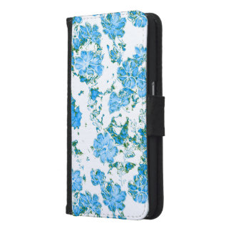 floral dreams 12 E Samsung Galaxy S6 Wallet Case
