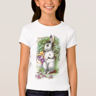 Floral Easter Bunny T-Shirt