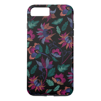 Floral embroidery iPhone 8 plus/7 plus case