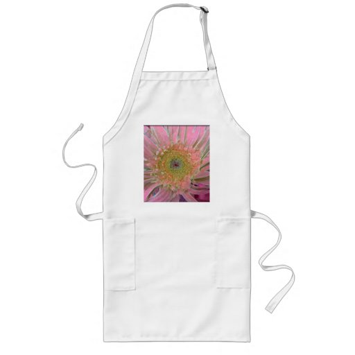Floral Explosion in Pink Apron