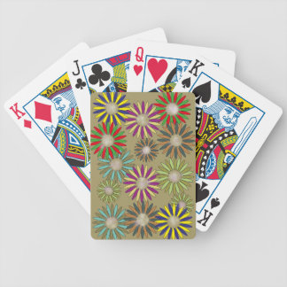 Floral Fantasy Bicycle Playing Cards