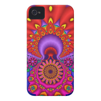 Floral Fantasy, decorative Blackberry bold case