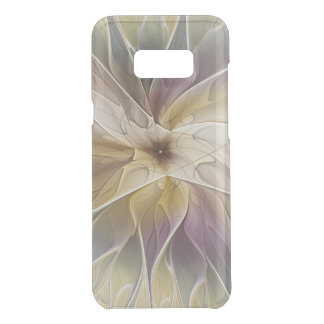 Floral Fantasy Gold Aubergine Abstract Fractal Art Uncommon Samsung Galaxy S8 Plus Case