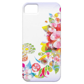 Floral fantasy iphone cover
