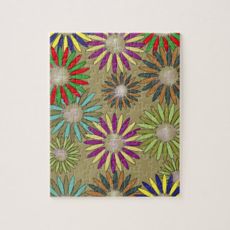 Floral Fantasy Jigsaw Puzzle