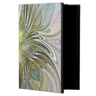 Floral Fantasy Modern Fractal Art Flower With Gold Powis iPad Air 2 Case
