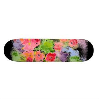 Floral Fantasy Skateboard