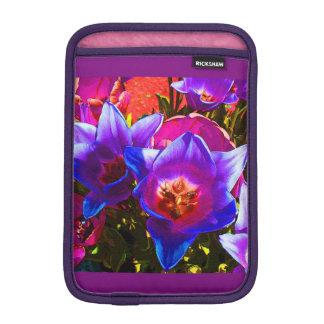 Floral Fantasy Vertical iPad Mini Case Sleeve For iPad Mini