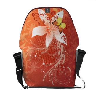 Floral Fashion 11 Messenger Bag