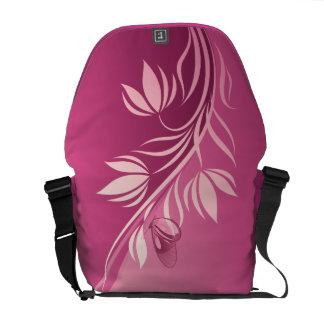 Floral Fashion 2 Messenger Bag
