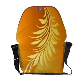 Floral Fashion 3 Messenger Bag