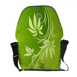 Floral Fashion 4 Messenger Bag