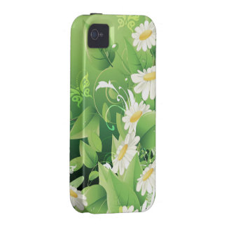 Floral Fashion 7 Case-Mate Case iPhone 4 Covers
