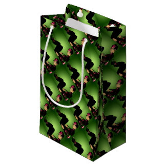 Floral Fashion Small Gift Bag