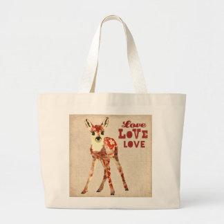 Floral Fawn Love Bag