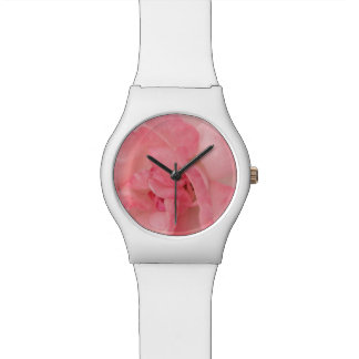 Floral Feminine Pink Rose Watch