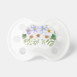 Floral Field Bouquet Baby Pacifier