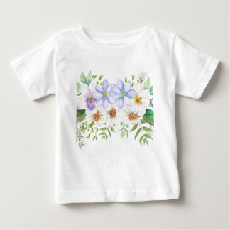 Floral Field Bouquet Baby T-Shirt