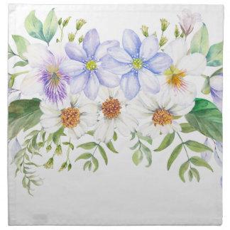 Floral Field Bouquet Napkin