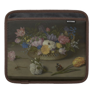Floral fine art Painting Sleeve For iPads