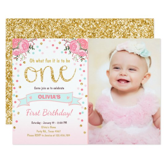 First Birthday Invites Saves Wpart Co
