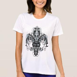 Floral Fleur-de-lis #1 T-shirts