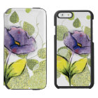 Floral Flower Incipio Watson™ iPhone 6 Wallet Case