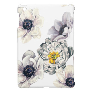 Floral Flower Peony Anemone Fresh Spring Artistic iPad Mini Case