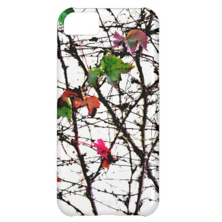 Floral Flowers Colours Art Artistic Beautiful fine Cover For iPhone 5C