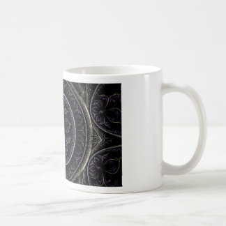 Floral Fractal Coffee Mug