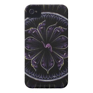 Floral Fractal iPhone 4 Case-Mate Cases