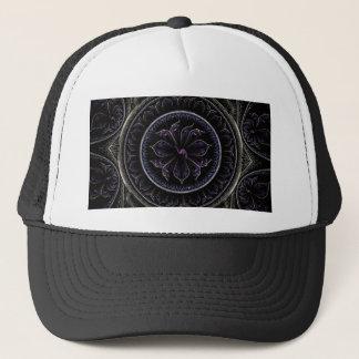 Floral Fractal Trucker Hat