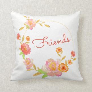 Floral Friends Pillow