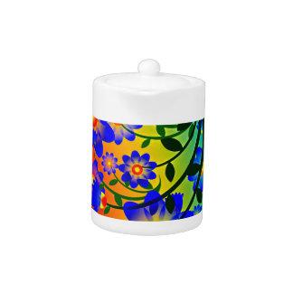 Floral Fusion Teapot