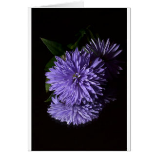 Floral Garden Park Peace Love Greeting Card